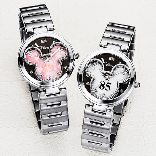 レディース ディズニー 腕時計 ミッキー生誕85周年記念 世界限定メモリアルダイヤ時計【送料無料】【smtb-TD】【saitama】