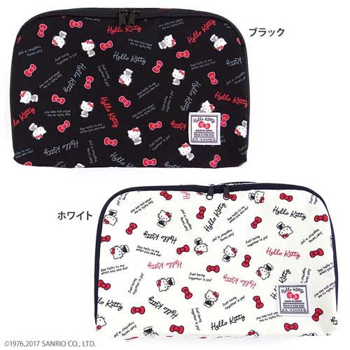 Hello Kitty ハローキティ スタンダードロゴ 衣類ケースS