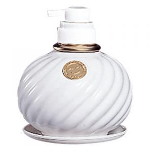 サラヤ ウォシュボン陶器製容器 MD-1F 泡ポンプ付 ホワイト 1L×6本※送料無料対象外※同梱不可※代引き不可