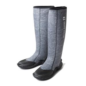 防水 ゴムブーツ 作業靴 すべりにくい フラットソール アトム グリーンマスター 早割クーポン ヘザーグレー 長靴 農作業 初回限定 庭仕事 ゴム靴 ガーデンブーツ 送料無料