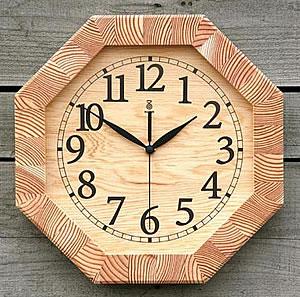 100%品質 KICORI 木の時計【八角時計】k119【送料無料 KICORI】インテリア・寝具・収納/時計/置き時計, イースマイル333:e814e077 --- supercanaltv.zonalivresh.dominiotemporario.com