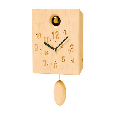 コサイン cosine カッコー時計 メープル CW-13CS-D 木製 とけい ウッドクロック 新築祝い 壁掛け時計 ギフト インテリア 日本製 国産 児童館 イベント 販促ツールに♪お見舞 送料無料