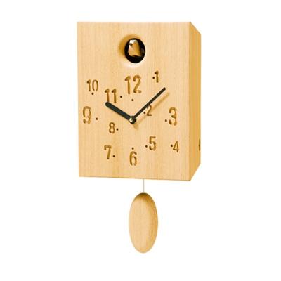 【カッコー時計(ナラ)[CW-13CN-D]】【送料無料】【smtb-KD】/インテリア・寝具・収納/時計/置き時計