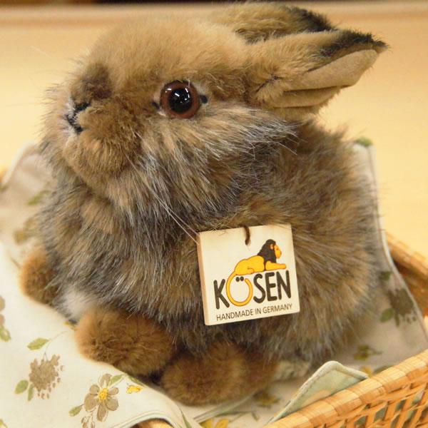 ケーセン(Kosen)社 【野うさぎのこ】【送料無料(一部地域を除く)】
