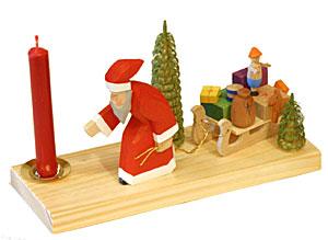 【キャンドルスタンド おもちゃのそり】クリスマス