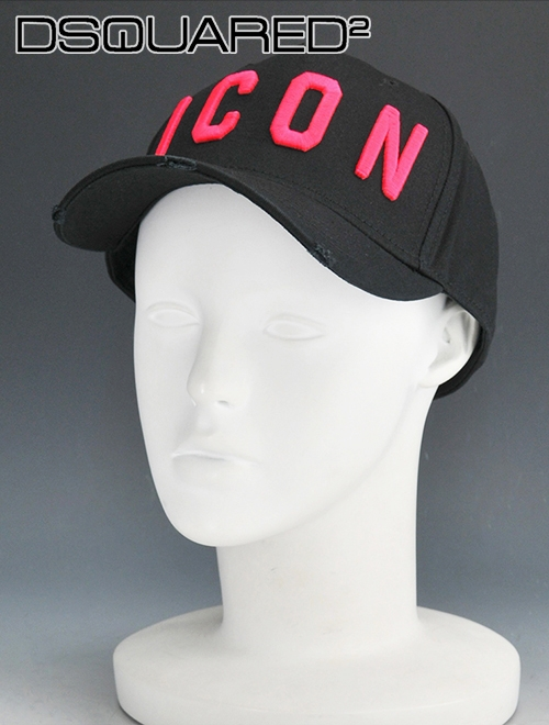 ed0151233 Entering Dis kelp grouper ard domestic regular article men baseball cap  black & pink logo ICON damage