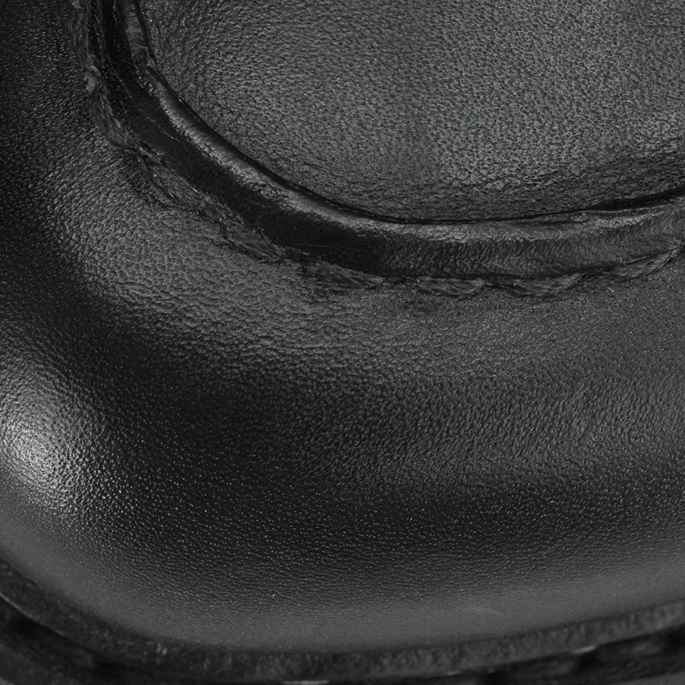 파랑 새 부츠 샨 보드 PARABOOT CHAMBORD [블랙] U 팁 슈즈