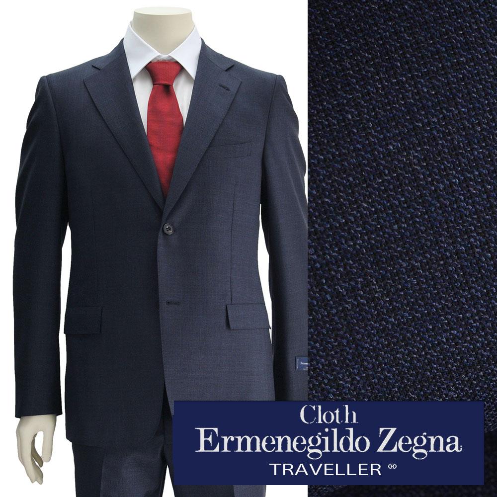 578daddd0e Deradera: Ermenegildo Zegna men suit TRAVELLER traveler wool navy ...