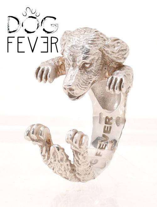 ドッグフィーバー  DOG FEVER ゴールデン・レトリバー GOLDEN RETRIVER 優しい表情も表れているハグリング イタリアからの ハンドメイド アクセサリー 指輪