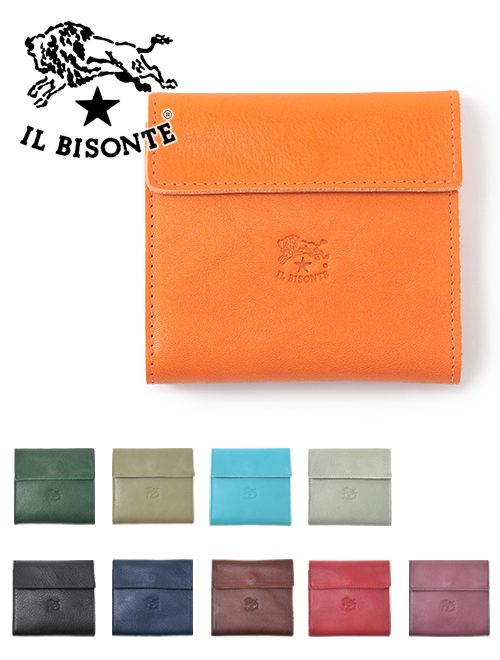 dc15340a496a From IL BISONTE (イルビゾンテ) which genuine article-oriented leather brand, ワニー  D フィリッポ design, The introduction of the Small wallet.