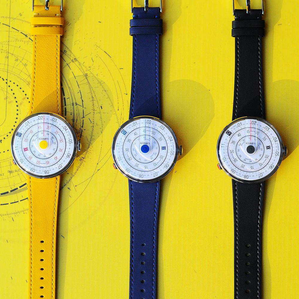クロッカーズ  klokers KLOK-01 レザーベルト スイス製 懐中時計 ユニセックス 腕時計 クリスマス ペアウォッチ でらでら 公式ブランド