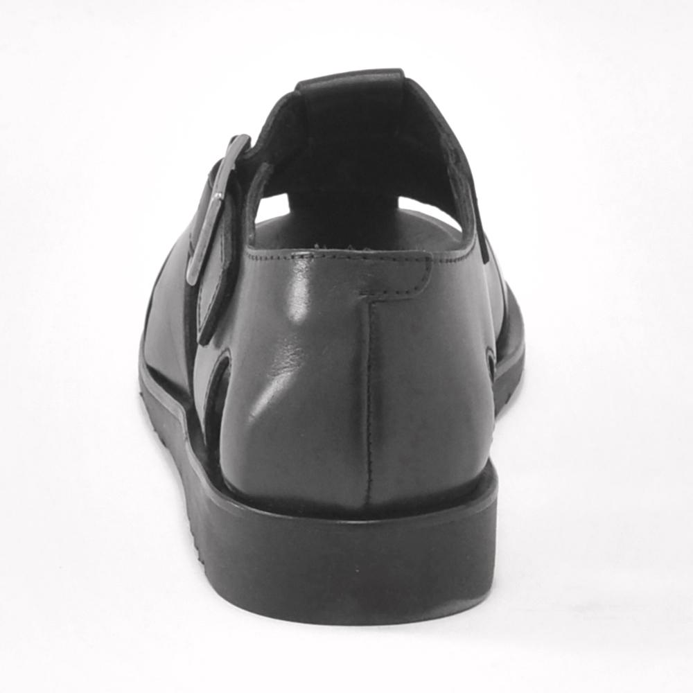 パラブーツPARABOOT 国内正規品 パシフィックPACIFIC ブラックオイルドレザー グラディエーター 編み込みレザー グルカ メンズサンダル でらでら 公式ブランド6y7vbgYf