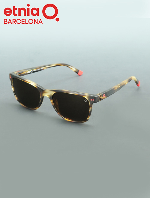f0aa817a812e Cell frame square type sunglasses proud of エトニアバルセロナ etnia BARCELONA SALVA  サルバ BRRD color icon coloration most light weight of the レオパード ...