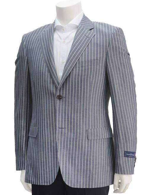 【クリアランスSALE50%off】cloth by エルメネジルド ゼニア  ZEGNA CROSS-PLY クロスプライ 夏の生地イイとこどりの三者混の涼ジャケット。 ONはもちろんOFFにも使える細見テーラードジャケット でらでら 公式ブランド