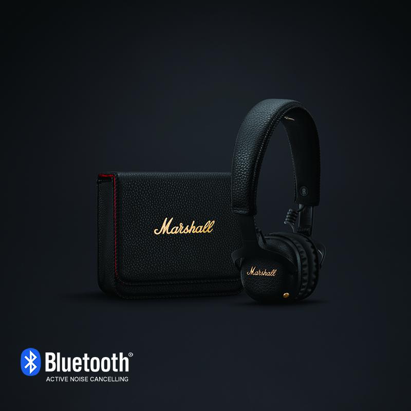Marshall MID A.N.C Bluetooth Black マーシャル Bluetoothヘッドホン