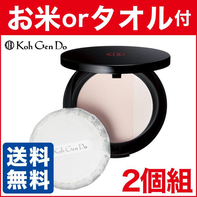 江原道 マイファンスィー プレストパウダー 13g 2個組 (パフ・コンパクト付き) KohGendo (d)