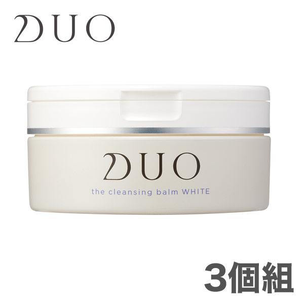 デュオ D.U.O. ザ クレンジングバーム ホワイト 90g 3個組 DUO (201908)