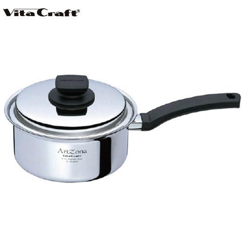 (10年保証付) (ビタクラフト) Vita Craft アリゾナ 片手鍋 17cm No.8545 通販 (mz)(cp)