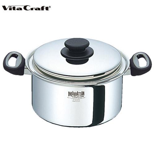 (10年保証付) Vita Craft ビタクラフト マンハッタン 両手鍋 4.0L 5774 通販