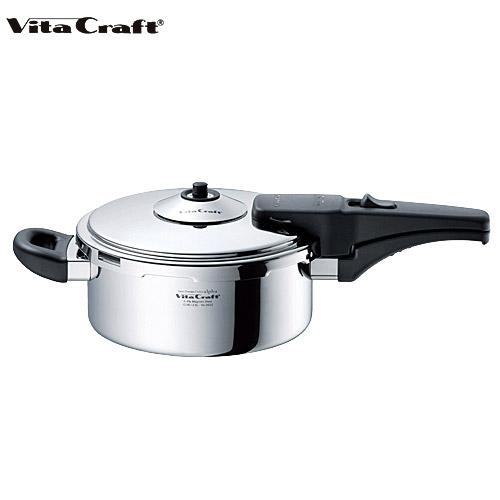 (10年保証付) (ご購入で特典プレゼント) ビタクラフト アルファ片手圧力鍋 2.5L No.0622 Vita Craft 通販