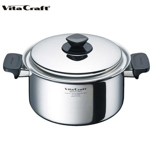 ビタクラフト Vita Craft ヘキサプライ 両手鍋 4.0L深型 No.6125 通販