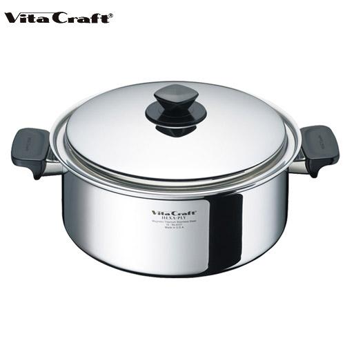 ビタクラフト Vita Craft ヘキサプライ 両手鍋 5.5L No.6127 通販