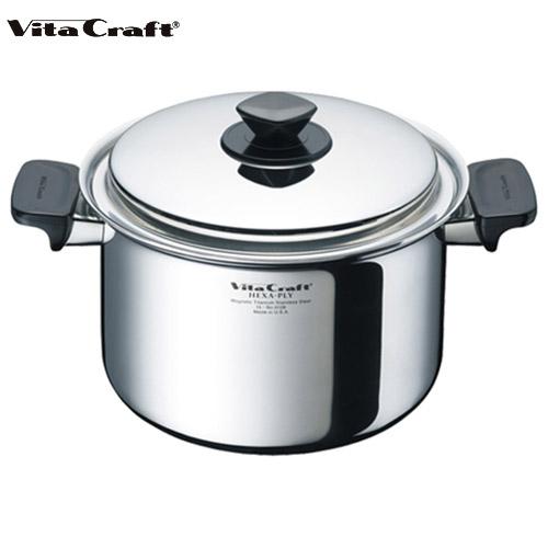ビタクラフト Vita Craft ヘキサプライ 両手鍋 5.5L深型 No.6128 通販 (mz)(cp)