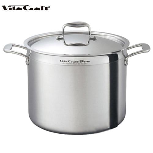 ビタクラフト Vita Craft プロ 寸胴鍋 16.7L No.0215 通販