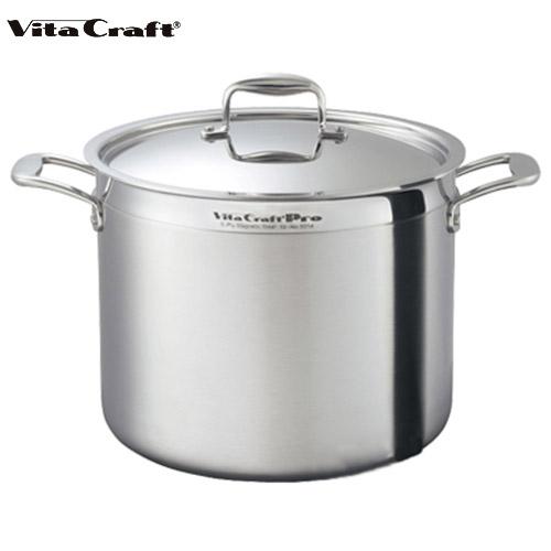 ビタクラフト Vita Craft プロ 寸胴鍋 40.3L No.0218 通販