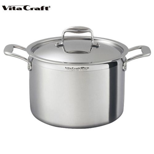 ビタクラフト Vita Craft プロ 半寸胴鍋 7.7L No.0223 通販