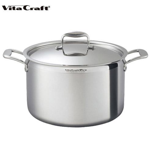 ビタクラフト Vita Craft プロ 半寸胴鍋 11.0L No.0224 通販