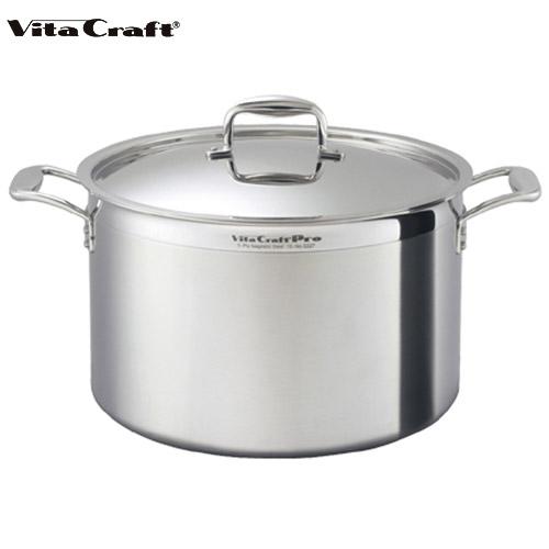 ビタクラフト Vita Craft プロ 半寸胴鍋 23.0L No.0227 通販