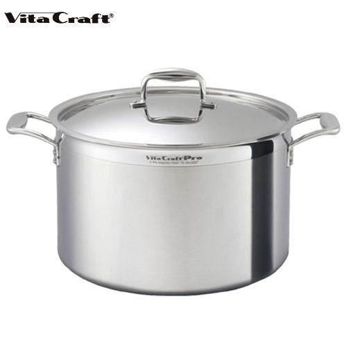 ビタクラフト Vita Craft プロ 半寸胴鍋 30.2L No.0228 通販
