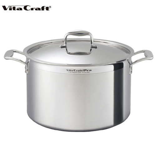 ビタクラフト Vita Craft プロ 半寸胴鍋 46.0L No.0229 通販