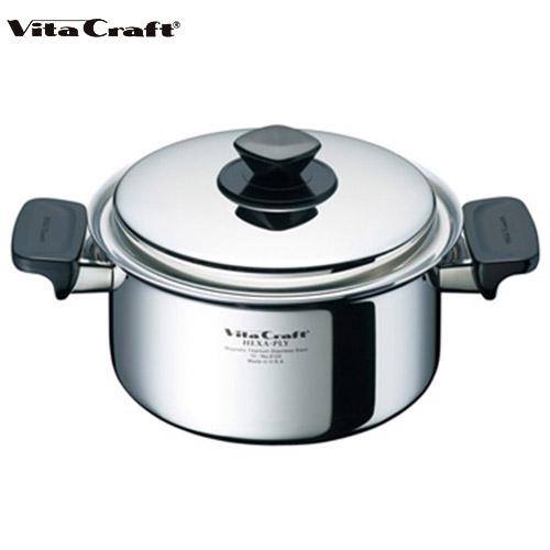 ビタクラフト Vita Craft ヘキサプライメタル 両手鍋 3.0L No.6152