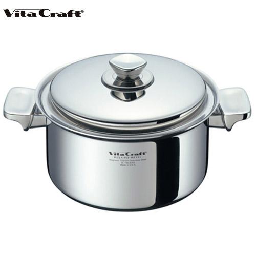 ビタクラフト Vita Craft ヘキサプライメタル 両手鍋 4.0L 深型 No.6155