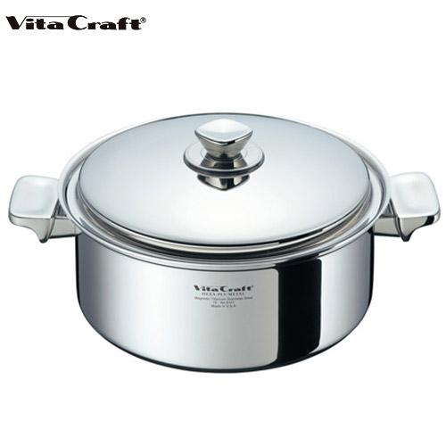 ビタクラフト Vita Craft ヘキサプライメタル 両手鍋 5.5L No.6157