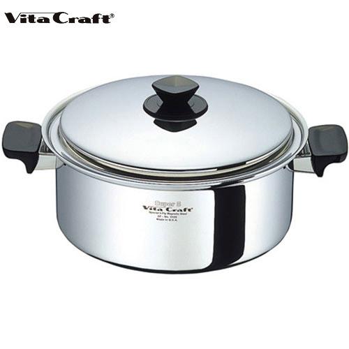 メーカー価格39960円が40%OFF! Vita Craft ビタクラフト スーパーファイブ 両手鍋 5.5L