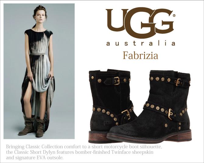 UGG アグ ショートブーツ FABRIZIA ファブリーツィア 型番:1003235