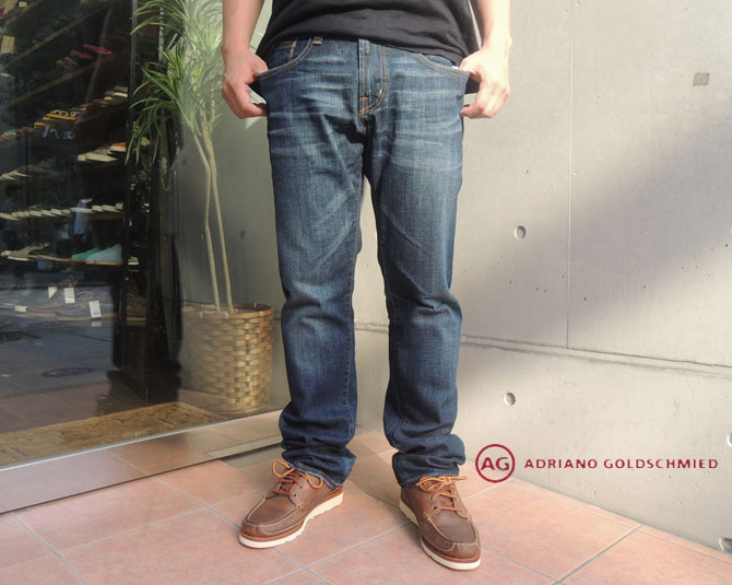 AG jeans A G牛仔裤THE GEFFEN ROA34 E G纤细