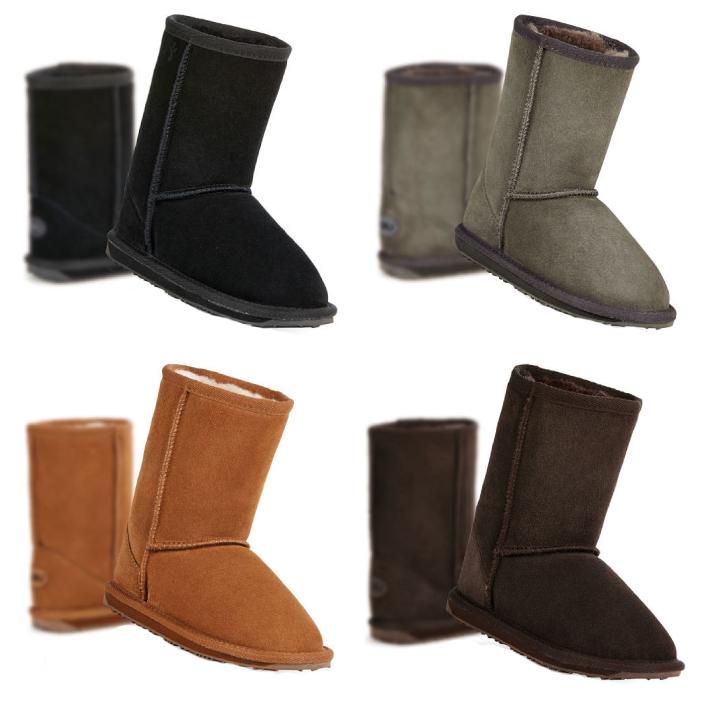 【5%還元!】emu australia Wallaby Lo K10102 エミュー ムートンブーツ キッズ 子供 靴 ブーツ 【0304ss_l】
