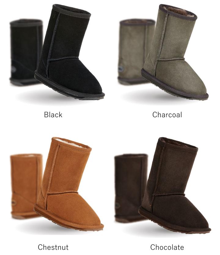e2dea56fc5d emu australia Wallaby Lo K10102 emu mouton boots kids child shoes boots