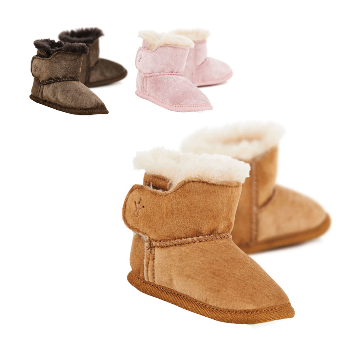 651920cbbe9 Child baby gift winter Baby Bootie B10310 of the emu australia emu  Australia mouton boots baby booties first shoes shoes boots boy woman
