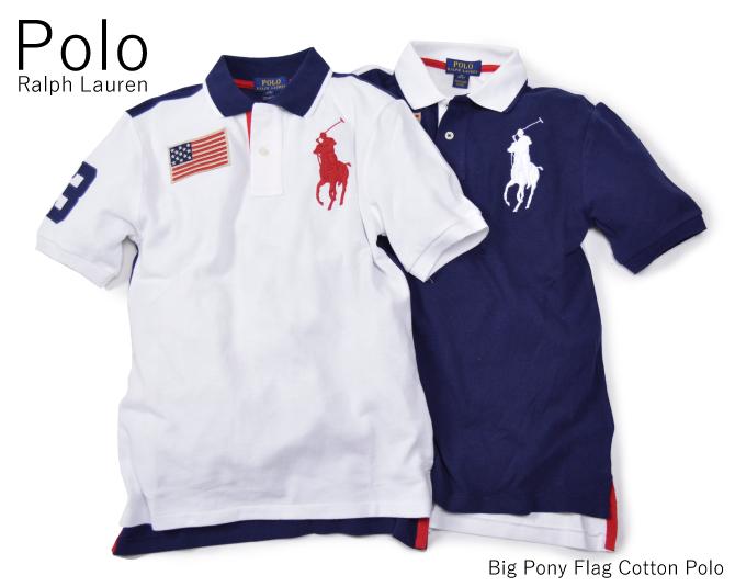 047e7381 DEROQUE: Polo Ralph Lauren Kids polo Ralph Lauren kids big pony flag ...