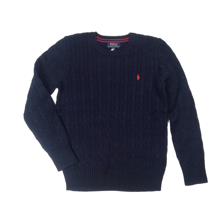 Deroque Ralph Lauren Kids Polo Ralph Lauren Cable Knit Cotton