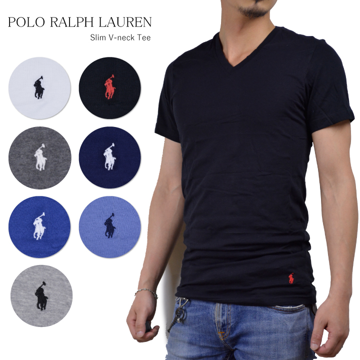 4627d590 DEROQUE: Ralph Lauren Ralph one point V neck T-shirt POLO RALPH ...