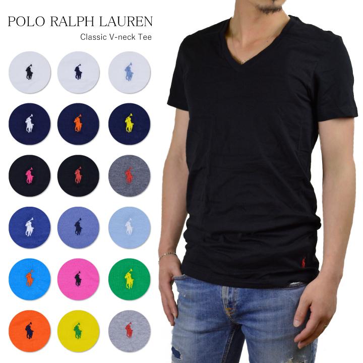 65cd23911 Ralph Lauren Ralph one point V neck T-shirt POLO RALPH LAUREN CLASSIC FIT  ...