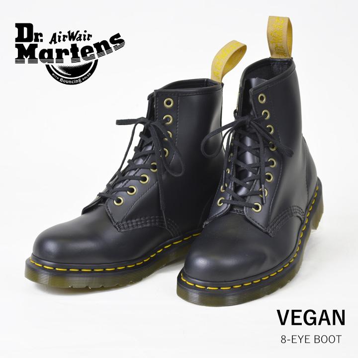 DEROQUE  Dr. Martin Dr Martens 1460 VEGAN 8EYE BOOT Womens mens 8 hole  boots  c488565b9d