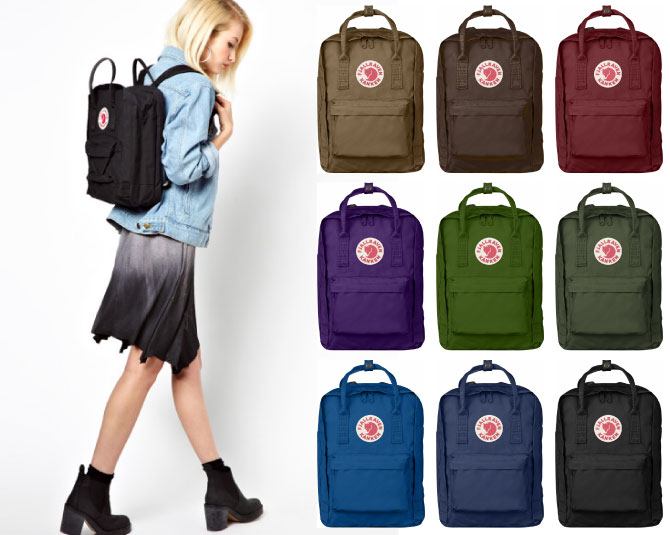 Club Fjall Raven Kanken Laptop Kuan Bag Packable Backpack Knapsack 2way Las Female Men S For Yep 100