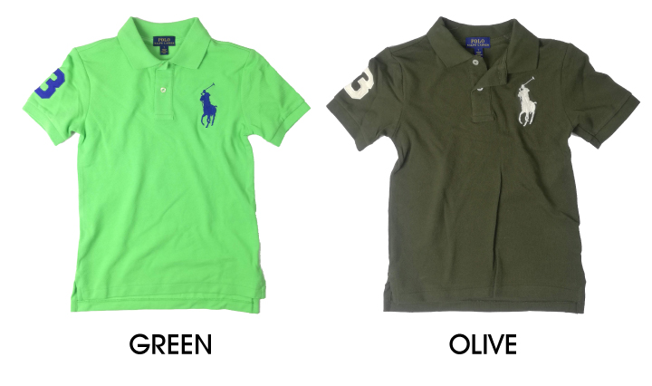 4ff6ca9d6 DEROQUE  Ralph Lauren KIDS POLO RALPH LAUREN big pony polo shirt BIG ...